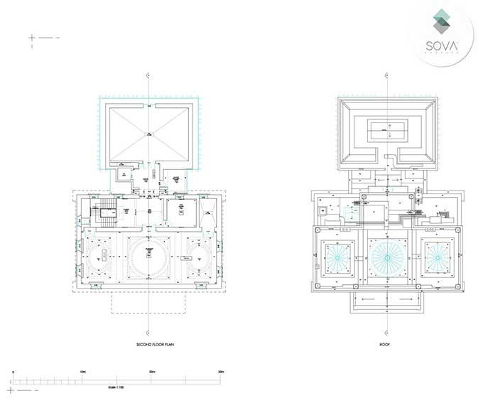 Measured building survey of Holburne Museum