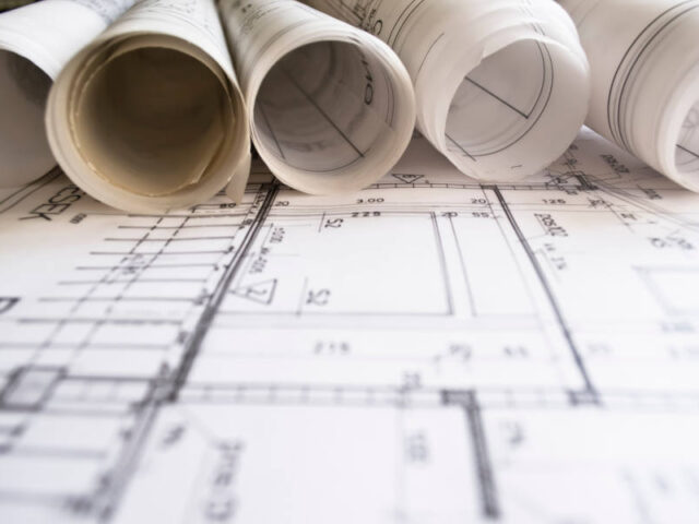 Architectural plan, technical project and constructions - Depositphotos_5394848_xl-2015
